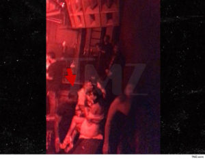 Kevin Hart parties in vegas with stripper