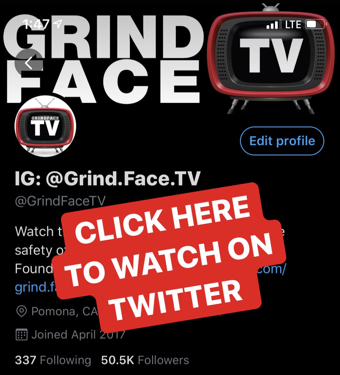 Watch On GrindFaceTV